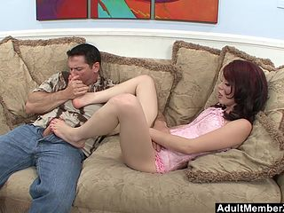 Free downloads & Watch Rough pounding ends up in feet cum licking.mp4 3