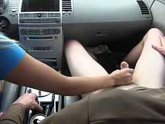 beautiful babes sucking dick in car
