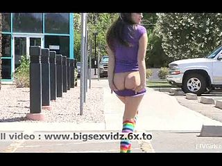 Walking In Public With Dildo